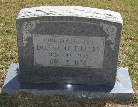 TILLERY, DUFFIE ORVEL - Saline County, Arkansas | DUFFIE ORVEL TILLERY - Arkansas Gravestone Photos
