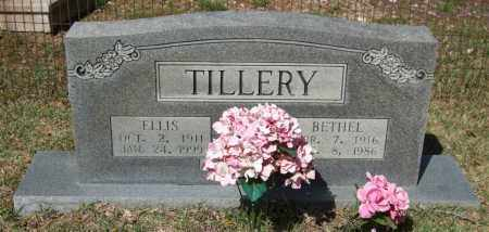 TILLERY, ELLIS - Saline County, Arkansas | ELLIS TILLERY - Arkansas Gravestone Photos