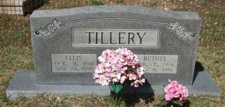 TILLERY, BETHEL - Saline County, Arkansas | BETHEL TILLERY - Arkansas Gravestone Photos