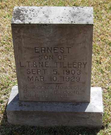 TILLERY, ERNEST - Saline County, Arkansas | ERNEST TILLERY - Arkansas Gravestone Photos