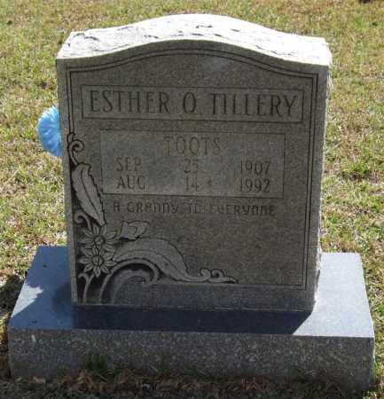 "LLOYD TILLERY, ESTHER Q ""TOOTS"" - Saline County, Arkansas 