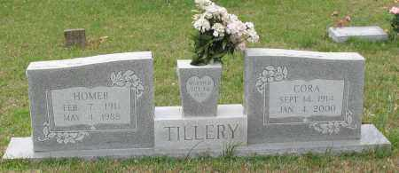 TILLERY, CORA - Saline County, Arkansas | CORA TILLERY - Arkansas Gravestone Photos