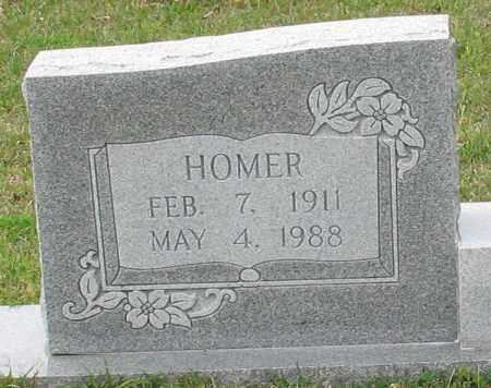 TILLERY, HOMER (CLOSEUP) - Saline County, Arkansas | HOMER (CLOSEUP) TILLERY - Arkansas Gravestone Photos