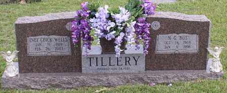"TILLERY, INEZ ""CHICK"" - Saline County, Arkansas 