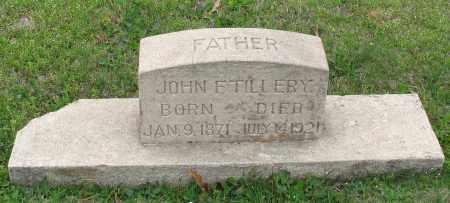 TILLERY, JOHN F. - Saline County, Arkansas | JOHN F. TILLERY - Arkansas Gravestone Photos