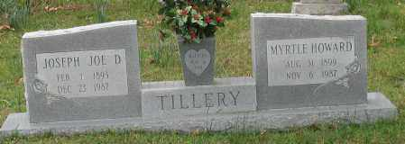 "TILLERY, JOSEPH D. ""JOE"" - Saline County, Arkansas 