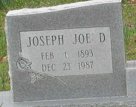 "TILLERY, JOSEPH D. ""JOE"" (CLOSEUP) - Saline County, Arkansas 