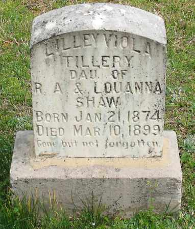 TILLERY, LILLEY VIOLA - Saline County, Arkansas | LILLEY VIOLA TILLERY - Arkansas Gravestone Photos