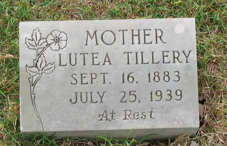 TILLERY, LUTEA - Saline County, Arkansas | LUTEA TILLERY - Arkansas Gravestone Photos