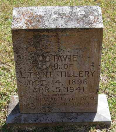 TILLERY, OCTAVIE - Saline County, Arkansas | OCTAVIE TILLERY - Arkansas Gravestone Photos