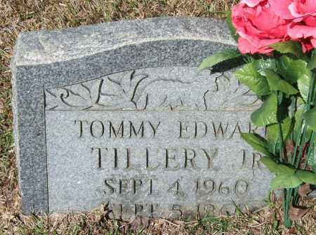 TILLERY, JR., TOMMY EDWARD - Saline County, Arkansas | TOMMY EDWARD TILLERY, JR. - Arkansas Gravestone Photos