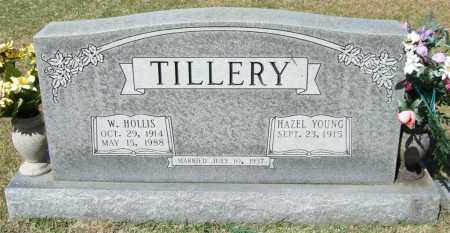 TILLERY, W HOLLIS - Saline County, Arkansas | W HOLLIS TILLERY - Arkansas Gravestone Photos