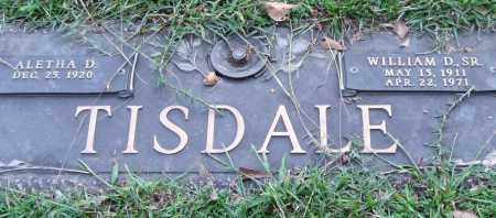 TISDALE, SR., WILLIAM D. - Saline County, Arkansas | WILLIAM D. TISDALE, SR. - Arkansas Gravestone Photos