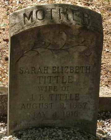 TITTLE, SARAH ELIZABETH - Saline County, Arkansas | SARAH ELIZABETH TITTLE - Arkansas Gravestone Photos