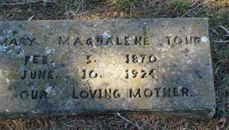 TONG, MARY MAGDALENE - Saline County, Arkansas | MARY MAGDALENE TONG - Arkansas Gravestone Photos