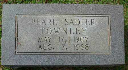 TOWNLEY, PEARL - Saline County, Arkansas | PEARL TOWNLEY - Arkansas Gravestone Photos