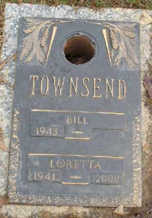 TOWNSEND, LORETTA - Saline County, Arkansas | LORETTA TOWNSEND - Arkansas Gravestone Photos