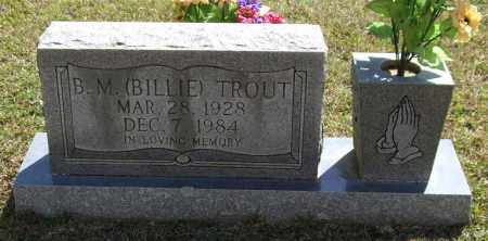 "TROUT, B M ""BILLIE"" - Saline County, Arkansas 