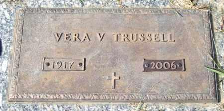TRUSSELL, VERA V. - Saline County, Arkansas | VERA V. TRUSSELL - Arkansas Gravestone Photos