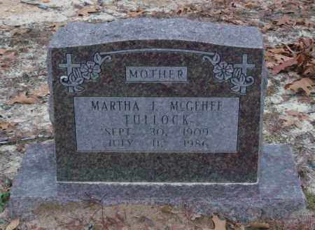 TULLOCK, MARTHA J. - Saline County, Arkansas | MARTHA J. TULLOCK - Arkansas Gravestone Photos