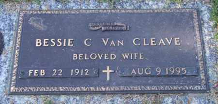 VAN CLEAVE, BESSIE C. - Saline County, Arkansas | BESSIE C. VAN CLEAVE - Arkansas Gravestone Photos