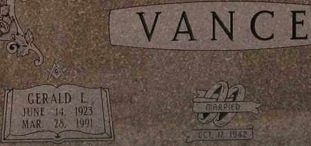 VANCE (VETERAN WWII), GERALD LAWRENCE - Saline County, Arkansas | GERALD LAWRENCE VANCE (VETERAN WWII) - Arkansas Gravestone Photos