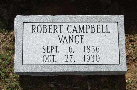 VANCE, ROBERT CAMPBELL - Saline County, Arkansas | ROBERT CAMPBELL VANCE - Arkansas Gravestone Photos
