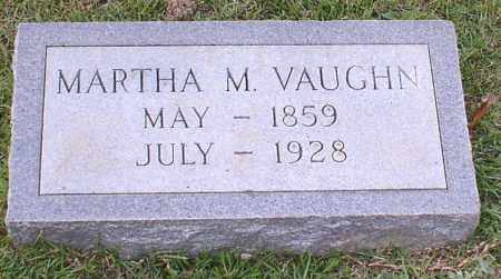 VAUGHN, MARTHA M. - Saline County, Arkansas | MARTHA M. VAUGHN - Arkansas Gravestone Photos