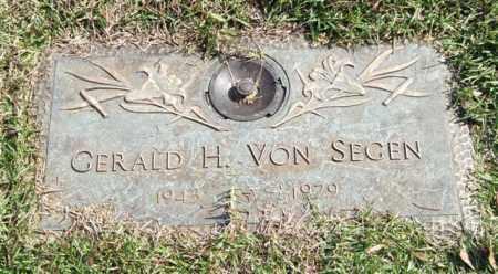 VON SEGEN, GERALD H. - Saline County, Arkansas | GERALD H. VON SEGEN - Arkansas Gravestone Photos