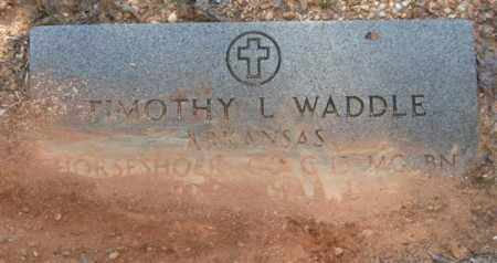 WADDLE (VETERAN), TIMOTHY L - Saline County, Arkansas | TIMOTHY L WADDLE (VETERAN) - Arkansas Gravestone Photos