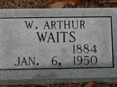 WAITS, W. ARTHUR - Saline County, Arkansas | W. ARTHUR WAITS - Arkansas Gravestone Photos