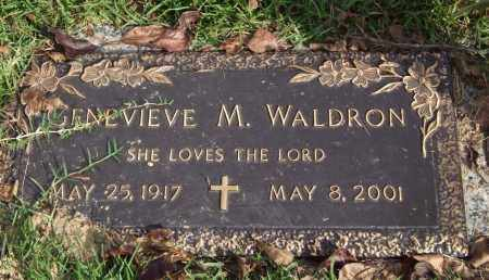 WALDRON, GENEVIEVE M. - Saline County, Arkansas | GENEVIEVE M. WALDRON - Arkansas Gravestone Photos