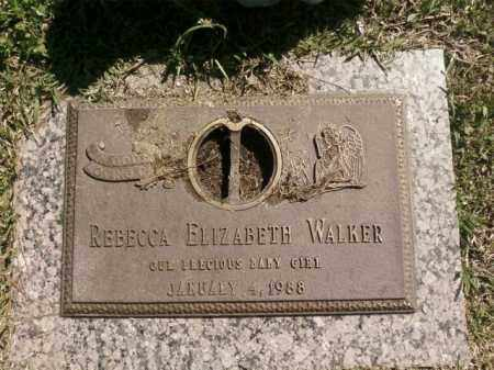 WALKER, REBECCA ELIZABETH - Saline County, Arkansas | REBECCA ELIZABETH WALKER - Arkansas Gravestone Photos