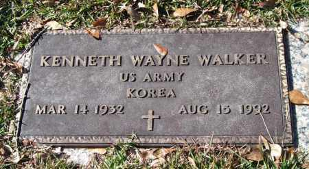 WALKER (VETERAN KOR), KENNETH WAYNE - Saline County, Arkansas | KENNETH WAYNE WALKER (VETERAN KOR) - Arkansas Gravestone Photos