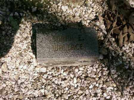 WALLACE, SARAH E. - Saline County, Arkansas | SARAH E. WALLACE - Arkansas Gravestone Photos