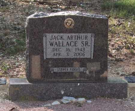 WALLACE, SR., JACK ARTHUR - Saline County, Arkansas | JACK ARTHUR WALLACE, SR. - Arkansas Gravestone Photos