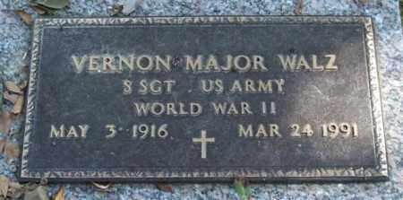 WALZ (VETERAN WWII), VERNON MAJOREW) - Saline County, Arkansas | VERNON MAJOREW) WALZ (VETERAN WWII) - Arkansas Gravestone Photos