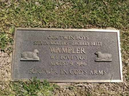 WAMPLER, ZACHARY BRITT - Saline County, Arkansas | ZACHARY BRITT WAMPLER - Arkansas Gravestone Photos