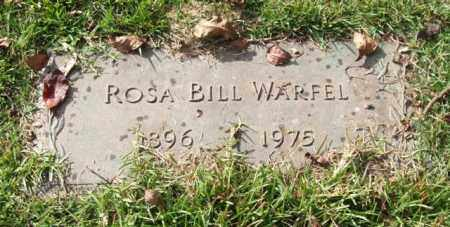 WARFEL, ROSA BILL - Saline County, Arkansas | ROSA BILL WARFEL - Arkansas Gravestone Photos