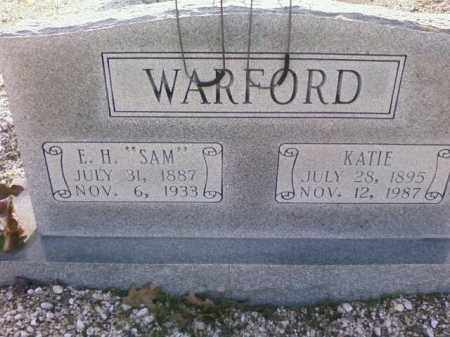 WARFORD, KATIE - Saline County, Arkansas | KATIE WARFORD - Arkansas Gravestone Photos