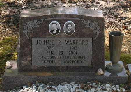WARFORD, JOHNIE ROBERT - Saline County, Arkansas | JOHNIE ROBERT WARFORD - Arkansas Gravestone Photos