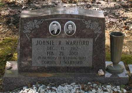 WARFORD, JOHNIE ROBERT - Saline County, Arkansas | JOHNIE ROBERT WARFORD - Arkansas Gravestone Photos