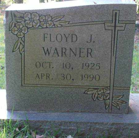WARNER, FLOYD J - Saline County, Arkansas | FLOYD J WARNER - Arkansas Gravestone Photos