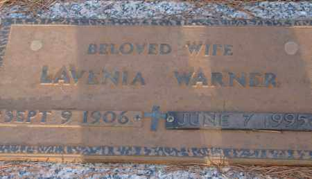 WARNER, LAVENIA - Saline County, Arkansas | LAVENIA WARNER - Arkansas Gravestone Photos