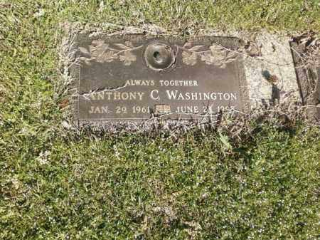 WASHINGTON, ANTHONY C. - Saline County, Arkansas | ANTHONY C. WASHINGTON - Arkansas Gravestone Photos