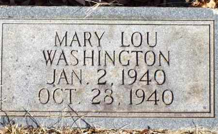 WASHINGTON, MARY LOU - Saline County, Arkansas | MARY LOU WASHINGTON - Arkansas Gravestone Photos