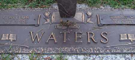 WATERS, C. WELTON - Saline County, Arkansas | C. WELTON WATERS - Arkansas Gravestone Photos