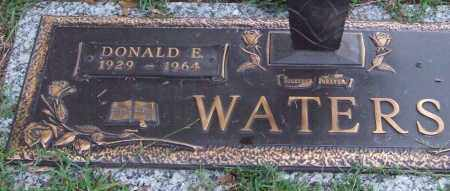WATERS, DONALD E. - Saline County, Arkansas | DONALD E. WATERS - Arkansas Gravestone Photos