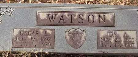 WATSON, OSCAR L. - Saline County, Arkansas | OSCAR L. WATSON - Arkansas Gravestone Photos