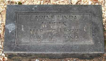 SHELL WATTS, LADINE LINDA - Saline County, Arkansas | LADINE LINDA SHELL WATTS - Arkansas Gravestone Photos